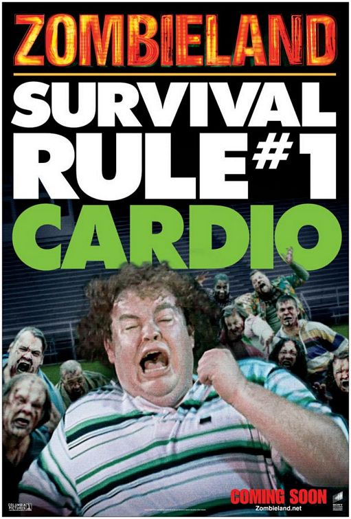 Disputing the Zombieland Rules: Rule 1: Cardio