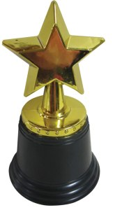 The most-coveted shitty plastic trophy presented by someone named Alan Edwards in the entire galaxy.