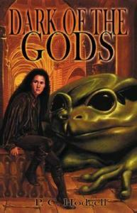 Why, yes, a giant frog god figures prominently in one of the stories. Basic fantasy stuff.